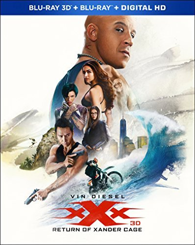 Xxx The Return Of Xander Cage Diesel Yen Padukone 3d Blu Ray Dc Pg13
