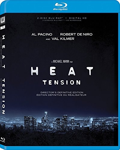 Heat Pacino De Niro Kilmer Blu Ray R Definitive Director's Edition