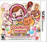 Nintendo 3ds Cooking Mama Sweet Shop