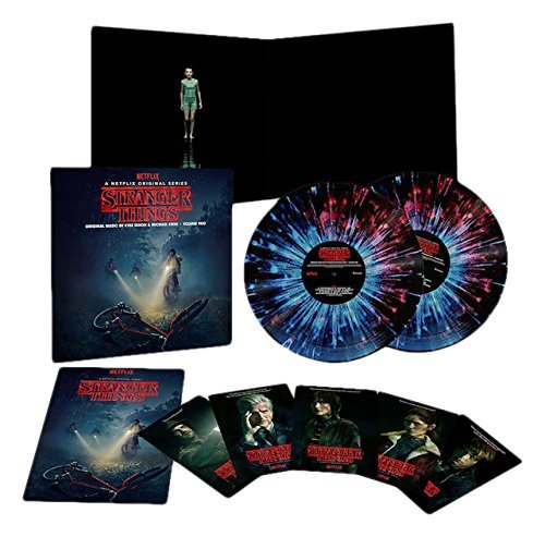 Stranger Things Soundtrack Deluxe Edition Vinyl Vol 2 2lp