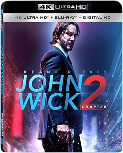 John Wick Chapter 2 Reeves Scamarcio Mcshane Rose Common Fishburne 4khd R
