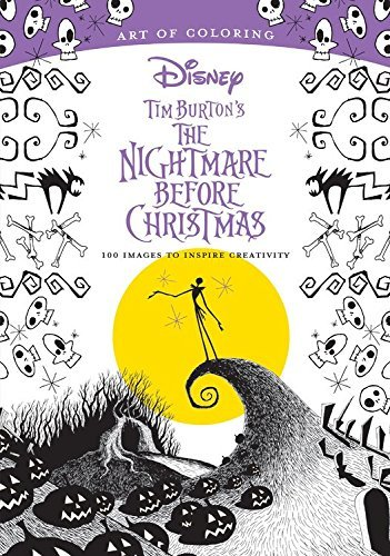 Art Of Coloring Tim Burton's The Nightmare Before Christmas Tim Burton's The Nightmare Before Christmas 100
