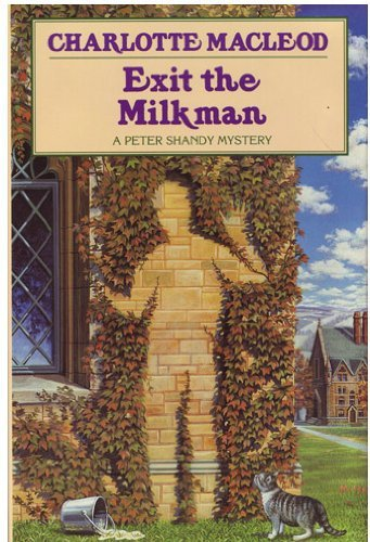 Charlotte Macleod Exit The Milkman Peter Shandy Mysteries