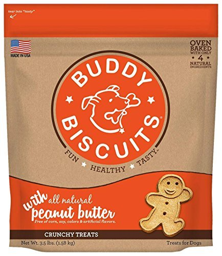 Cloud Buddy Biscuit Peanut 3.5lb Cloud Star Original Oven Baked Buddy Biscuits Dog Treats Peanut Butter 4 Pound