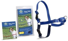 Easy Walk Harness Pet Sml Blue Easy Walk Harness Petite Small Ea
