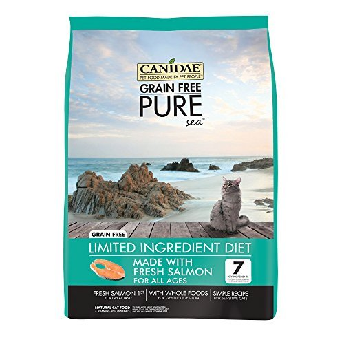 Canidae Grain Free Pure Cat Salmon 4lb Qb 9