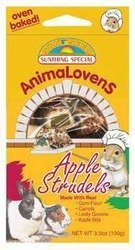 Animalovens Apple Strudel 3.5oz Animalovens 3.5 Ounce Ea
