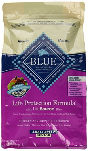 Blue Buffalo Small Breed Senior Chicken & Rice 6lb