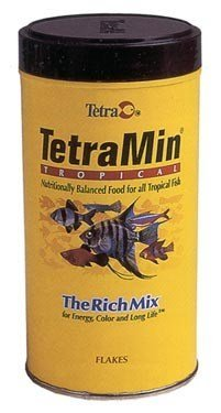 Tetra Min Tropical Flakes 1oz Tetra Tropical Flakes 1 Oz