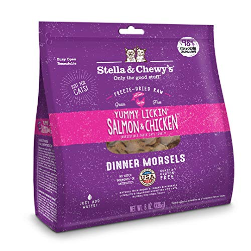 Stella & Chewy's Freeze Dried Salmon Chicken Cat 12oz