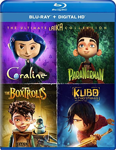 Kubo & The Two Strings The Boxtrolls Paranorman Coraline Ultimate Laika Collection Blu Ray