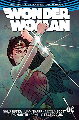 Greg Rucka Wonder Woman The Rebirth Deluxe Edition Book 1