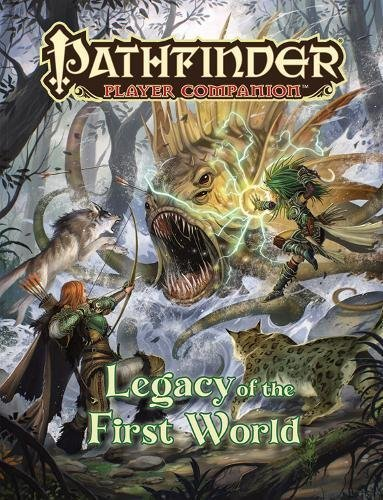 Paizo Staff Pathfinder Player Companion Legacy Of The First World