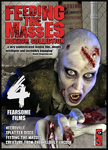 Feeding The Masses Horror Collection 4 Fearsome Films DVD Nr
