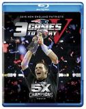 New England Patriots 3 Games To Glory V Blu Ray