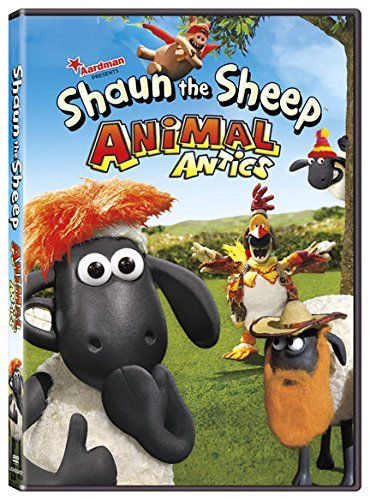 Shaun The Sheep Animal Antics DVD