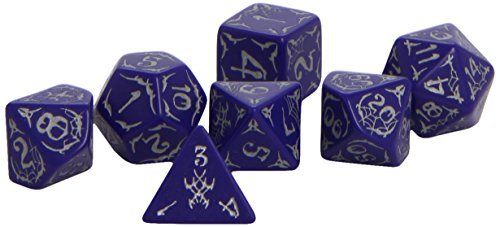 Dice Set Pathfinder Second Darkness 7ct Polyhedral Dice Set