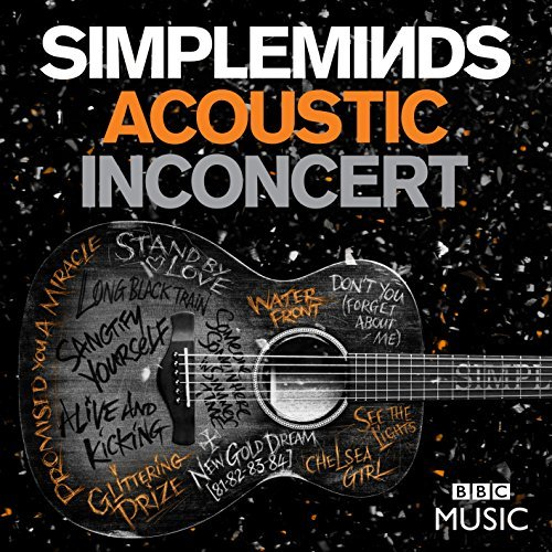 Simple Minds Acoustic In Concert DVD CD
