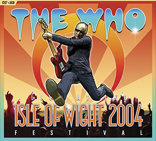The Who Live At The Isle Of Wight Festival 2004 DVD 2 CD Incl. Bonus DVD