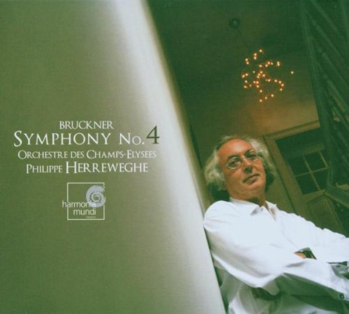 A. Bruckner Symphony No.4 'romantic' Herreweghe Orch Des Champs Ely