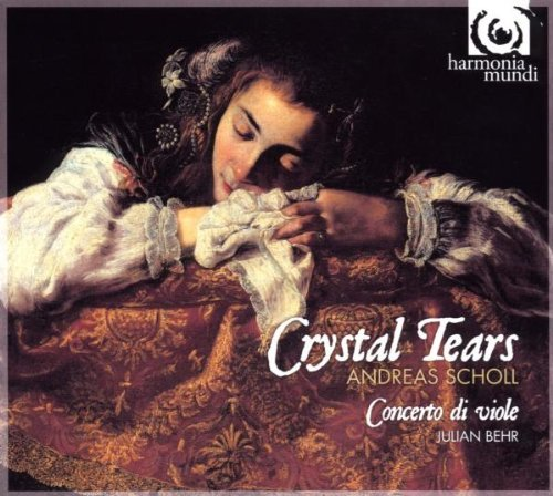 Andreas Scholl Crystal Tears Songs By Dowland Incl. Bonus DVD