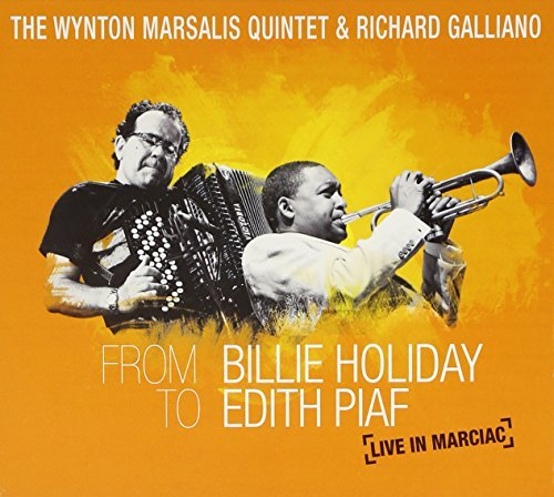 Wynton Quintet & Rich Marsalis From Billie Holiday To Edith P Incl. DVD
