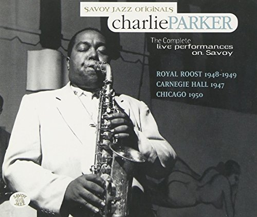 Charlie Parker Complete Live Performances 4 CD