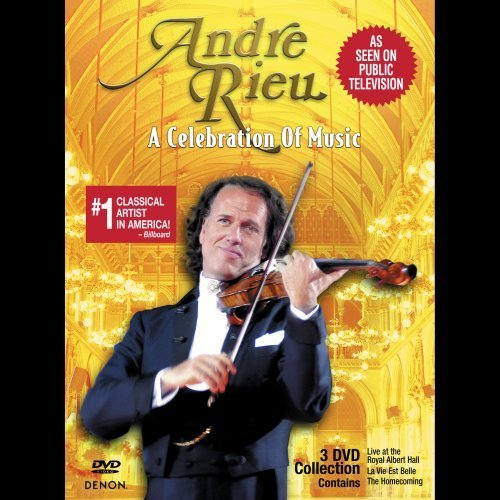 Andre Rieu Celebration Of Music 3 DVD