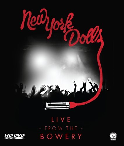 New York Dolls Live From The Bowery Blu Ray