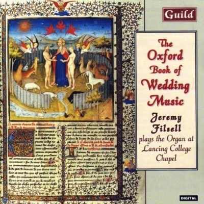 Jeremy Filsell Oxford Book Of Wedding Music Filsell (org)