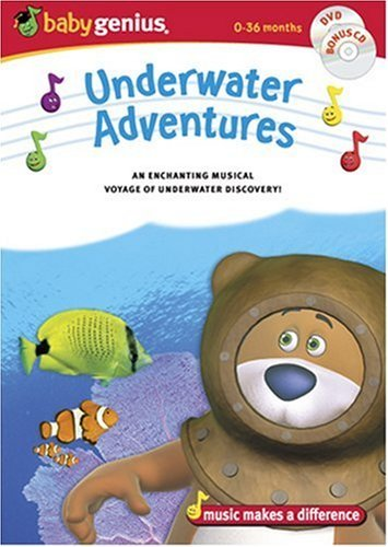 Underwater Adventures Baby Genius Chnr