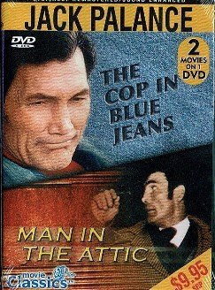 Cop In Blue Jeans & Man In The Attic [dvd] Double Feature Starring Jack Palance