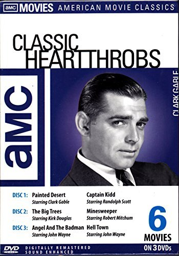 Clark Gable Classic Heart Throbs Collection 3 Disc Set