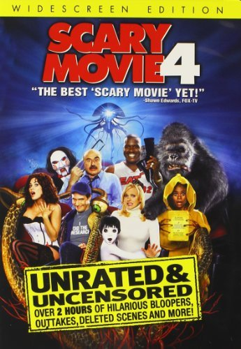Scary Movie 4 Faris Hall Nielsen Nr Unrated