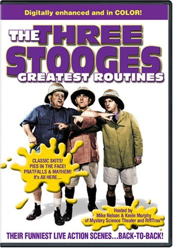 Greatest Routines Three Stooges Clr Nr