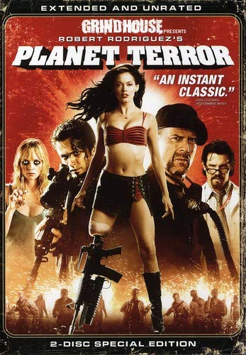 Planet Terror Mcgowan Brolin Willis Dvf Unrated