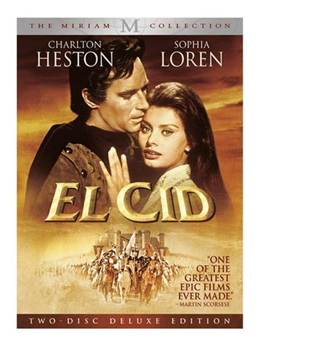 El Cid (2 Disc Deluxe Edition) Heston Loren Nr 2 DVD
