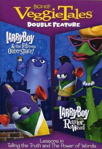 Veggie Tales Larry Boy & The Fib Larry Boy Nr 2 DVD