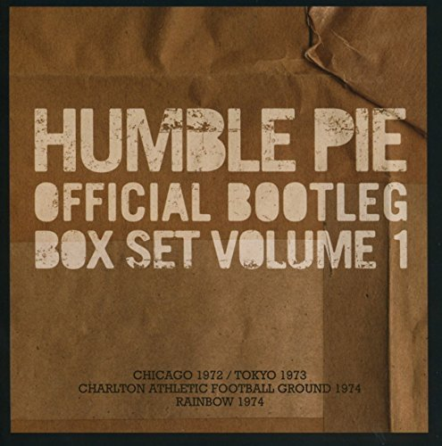 Humble Pie Official Bootleg Vol 1 Import Gbr 3cd