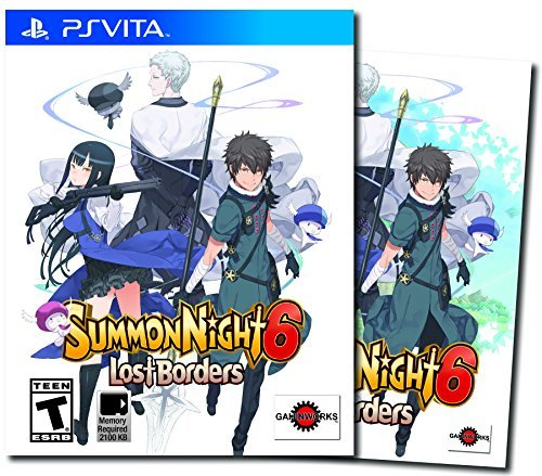 Playstation Vita Summon Night 6 Lost Borders