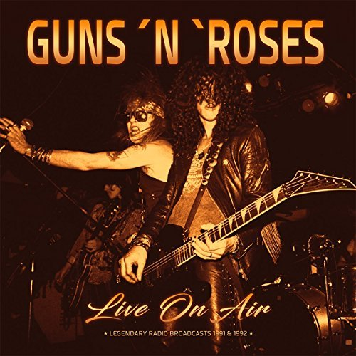 Guns N' Roses Live On Air 1991 & 1992 Lp