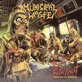 Municipal Waste Fatal Feast Orange Yellow Splatter Vinyl