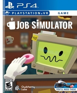 Ps4vr Job Simulator **requires Playstation Vr**