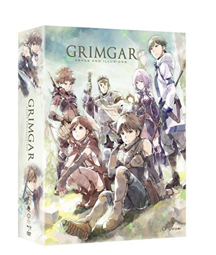 Grimgar Ashes & Illusions Complete Series Blu Ray DVD Limited Edition