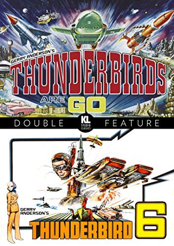 Thunderbird 6 Thunderbirds Are Go! Double Feature DVD G