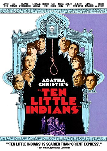 Ten Little Indians Reed Sommer Attenborough Welles DVD Pg