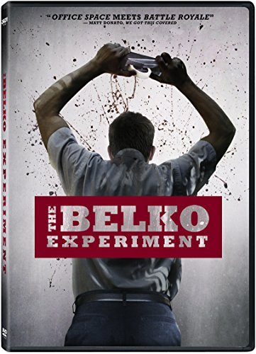 The Belko Experiment Gallagher Goldwyn Arjona DVD R