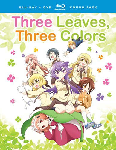 Three Leaves Three Colors Complete Series Blu Ray DVD