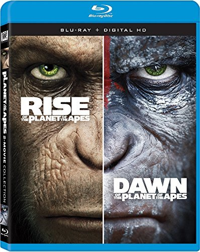 Planet Of The Apes Double Feature Blu Ray Rise Of The Planet Of The Apes Dawn Of The Planet Of Apes