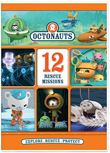 Octonauts 12 Rescue Missions DVD